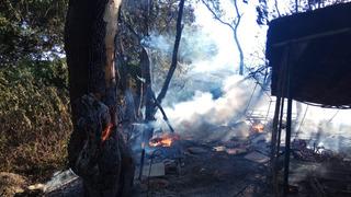 Житель Ставрополья лишился пасеки после пожара