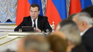 Дмитрий Медведев возмущен долгами СКФО за газ и электроэнергию