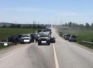 На Ставрополье в ДТП с тремя автомобилями погибла женщина