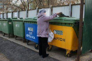 В Минводах появились первые контейнеры для раздельного сбора мусора