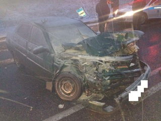 На Ставрополье автоледи попала в реанимацию после ДТП с КамАЗом