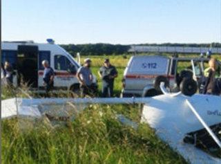 Под Ставрополем разбился легкомоторный самолет