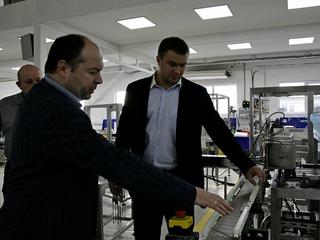Глава минпрома Ставрополья и его зам побывали на предприятиях Пятигорска