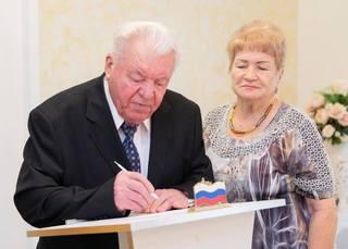 В Железноводске сыграли свадьбу 90-летний жених и 84-летняя невеста