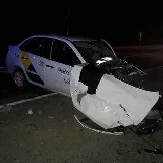 На Ставрополье 12 человек пострадали при столкновении трех автомобилей