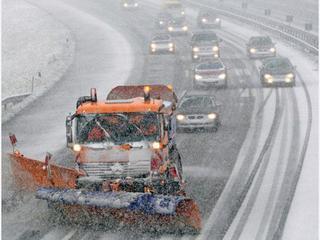 На Ставрополье из-за снега и ветра временно ограничивали движение на автодорогах