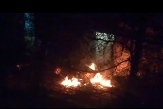 В Кисловодске во дворе дома сгорел автомобиль