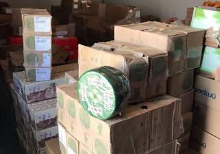 В Пятигорске изъяли и уничтожили 150 килограммов санкционного сыра