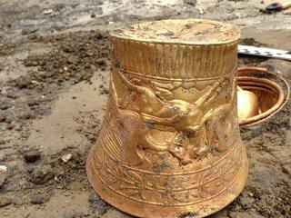 В Ставропольском крае археологи нашли золото сарматов