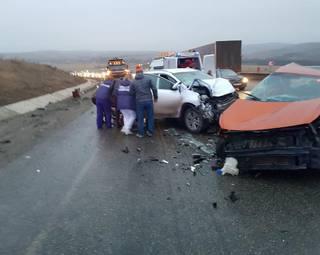 В ДТП под Ставрополем два человека погибли, трое пострадали