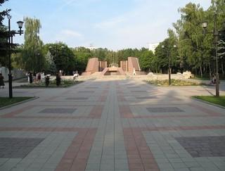 Комсомольский парк обещают привести в порядок к октябрю этого года