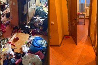 Детей из «мусорной» квартиры после реабилитации передали бабушке и дедушке