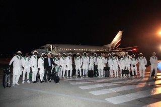 В Ессентуки прибыла сборная Нигерии