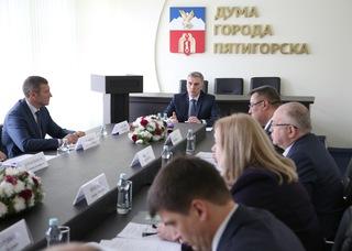 В Пятигорске избран новый мэр