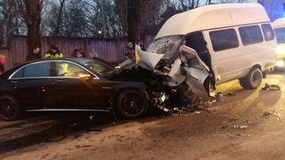 В ДТП с маршруткой в Ставрополе пострадали 11 человек