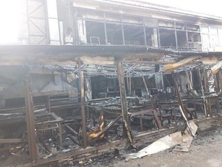 В Пятигорске в течение суток произошло два крупных пожара