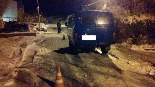 В Ставрополе ребенок, катаясь на санках, попал под колеса автомобиля