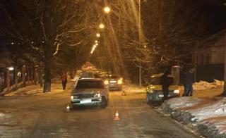 В Лермонтове пассажирка такси получила травму головы во время ДТП