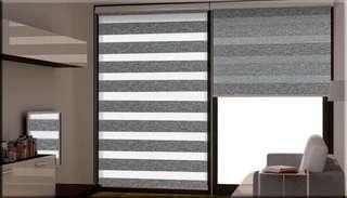 Рулонные шторы день-ночь: что это и в чем их плюсы?