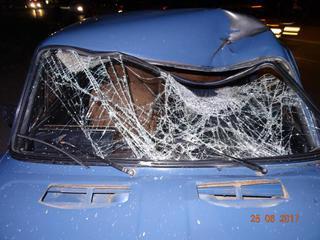 В Георгиевске неопытный водитель насмерть сбил пешехода