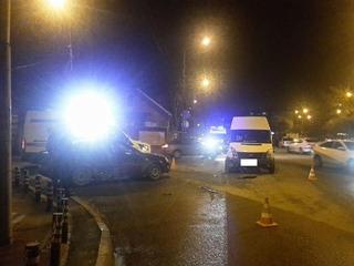 В Ставрополе при столкновении маршрутки с иномаркой пострадала женщина