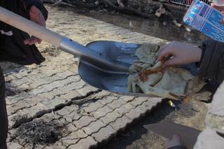 Жителей Ставрополя накормили блинами с лопаты