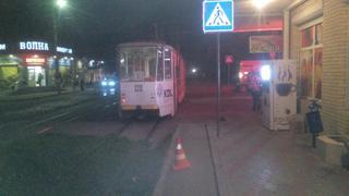 Пятигорчанина сбил трамвай