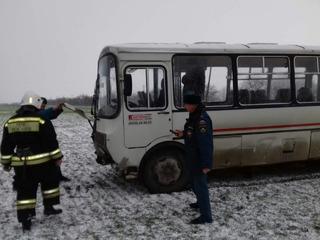 В ДТП на Ставрополье пострадали 15 пассажиров автобуса