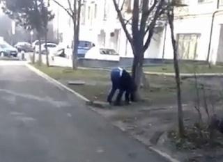 В Пятигорске искатель закладок с наркотиками попал на видео