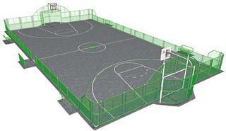 В центре Пятигорска построят многофункциональную спортивную площадку