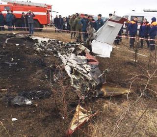 На Ставрополье при падении легкомоторного самолета погибли 4 человека