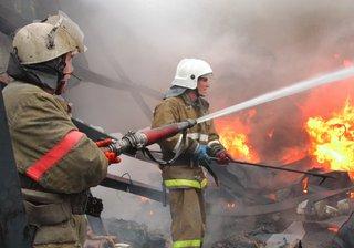 На пятигорском рынке произошел пожар