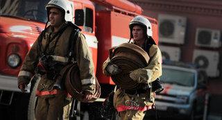 В Ставрополе на заброшенном заводе произошел крупный пожар
