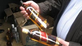 На Ставрополье задержаны 5 грузовиков поддельного алкоголя