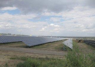 На Ставрополье введена в действие первая солнечная электростанция
