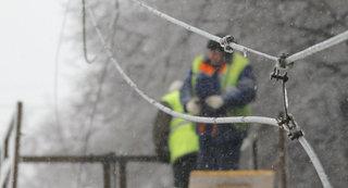 На Ставрополье из-за сильного ветра шесть районов остались без света