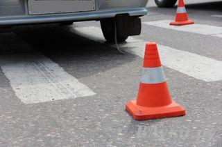 В Ессентуках водитель маршрутки сбил женщину на переходе