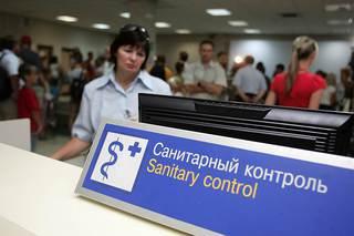 В аэропортах Ставрополья обнаружили семь иностранцев с опасными болезнями