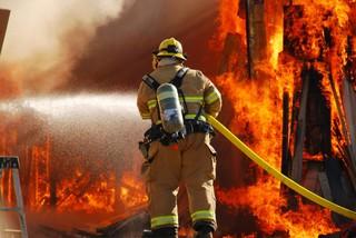 На Ставрополье потушен крупный пожар на кирпичном заводе