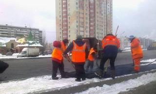 Ставропольским подрядчикам не заплатят за укладку асфальта в снег