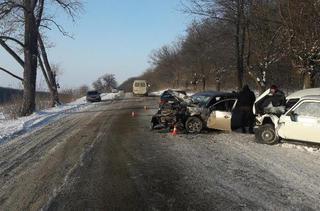 В Предгорном районе в лобовом ДТП погибли две женщины
