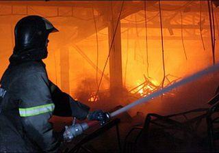 На рынке «Южный» в Ставрополе произошел пожар