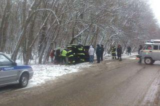 В ДТП с маршруткой под Железноводском пострадали 4 человека