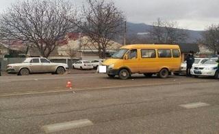 Под Пятигорском водитель маршрутки сбил 70-летнего пешехода