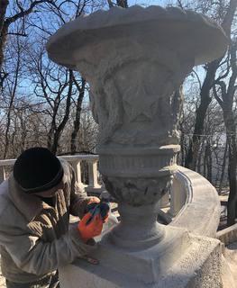 В Железноводске отреставрируют полувековые вазоны у входа в парк