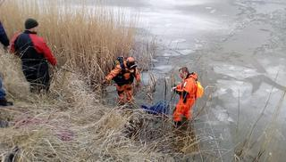 На Ставропольском озере рыбак провалился под лед и утонул