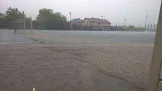 Район Ставрополя затопило после сильного ливня