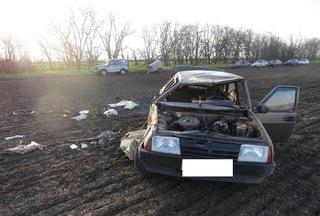 На Ставрополье пожилой водитель погиб в опрокинувшемся автомобиле