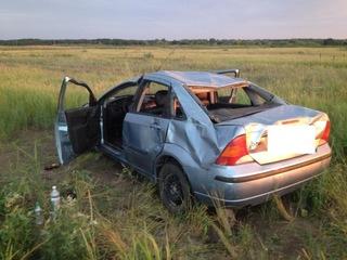На Ставрополье в результате ДТП пострадала семья с двумя детьми