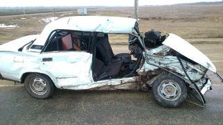 На Ставрополье подросток без прав и его пассажирка пострадали в ДТП